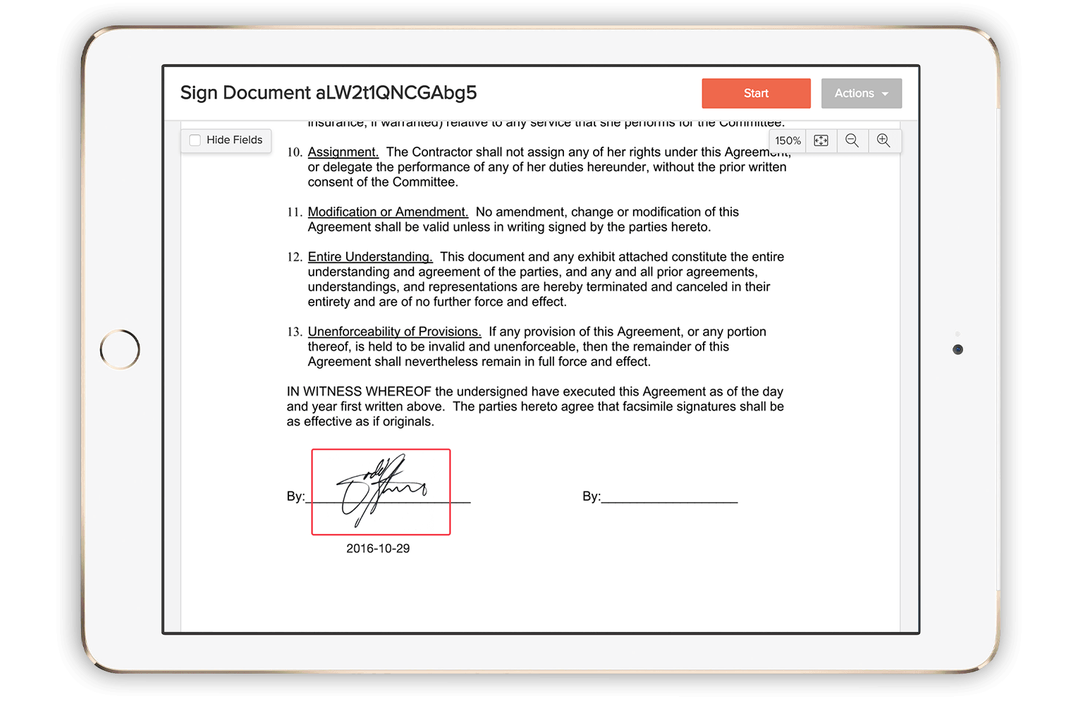 How to sign a digital signature 39